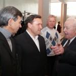 Встреча спреподавателем политэкономии В.А. Зацевым