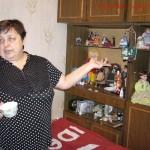 В.Ситникова в домашней обстановке