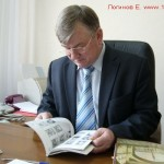 В. Федоров на рабочем месте