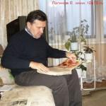 Е. Логинов в работе с материалами для книги